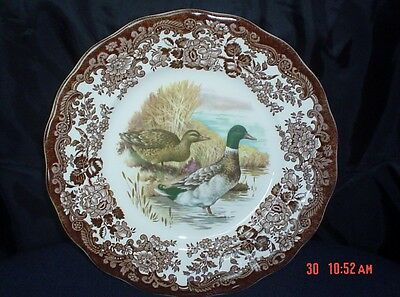 Palissy Royal Worcester Game Series - Side Salad Plate Decorated With Ducks