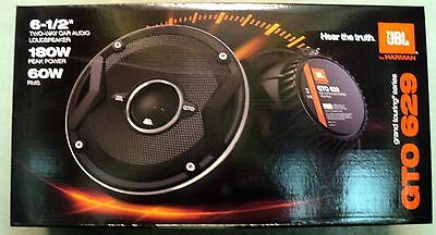 "NEW JBL GTO629 6.5"" 2-Way Grand Touring Series Coaxial Speakers (1-Pair)"