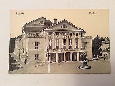 Postcard: Weimar Germany - Hot Theater