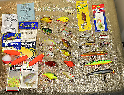 Fishing Lures Lot Manns, Xps  & Rapala  (22 Lures)