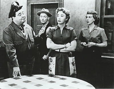 The Honeymooners Cast 8 X 10 Photo With Ultra Pro Toploader