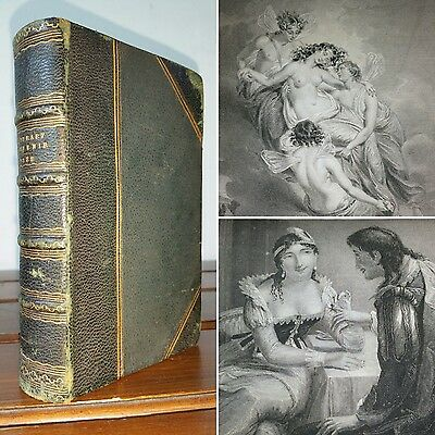 1828 The Literary Souvenir POETRY Romance ENGRAVED STEEL PLATES Alaric A Watts
