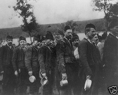Montenegro Soldiers Prisoners POW in Hungary 1915 World War I WWI 8x10 Photo