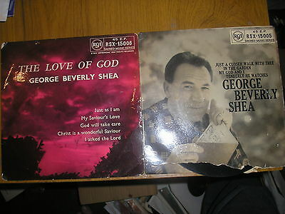 Lot 2 Ep's Beverley Shea The Love Of God & Just A Closer Walk With Thee Rca