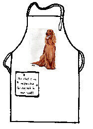 Irish Setter Full Size Apron No Longer Available Made in USA