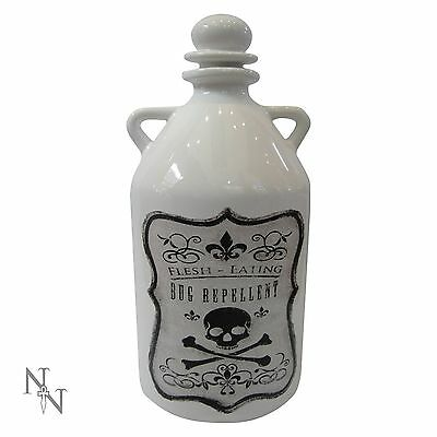 NEMESIS NOW, FLESH EATING BUG REPELLENT JAR - . alchemy wicca potions