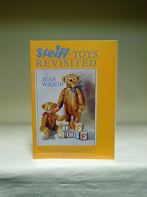 Steiff Toys Revisited Book By Jean Wilson - paperback book