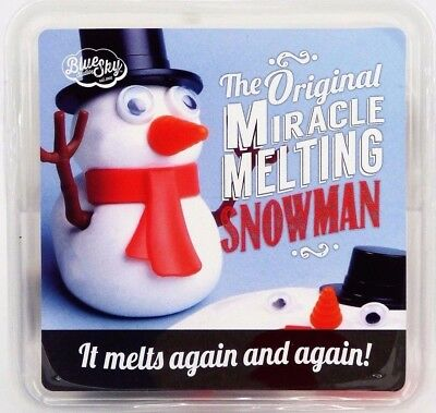 Melting Snowman Original Miracle Re-usable Melting Putty Fun Novelty Toy Gift