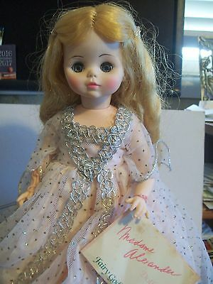 """MADAME ALEXANDER 12"""" DOLL """"FAIRY GODMOTHER with Wand & special Booklet"""