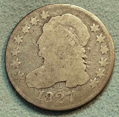 1827 Bust Dime Nice FREE SHIPPING
