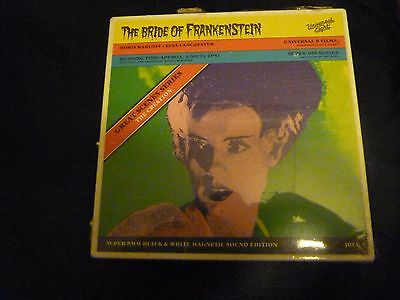 Super 8Mm Film The Bride Of Frankenstein The Creation 100Ft Black And White New