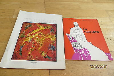 Montserrat Caballe In USA x 2 (1973) 1 SIGNED