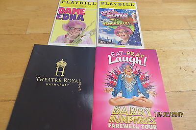 Dame Edna Shows x 4 (2 x UK, 2 x USA)