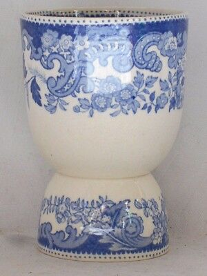 C19Th Blue And White Transfer Printed Double Ended Egg Cup