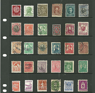 Bulgaria  6 stock sheets mix collection stamps