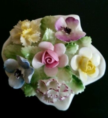 Royal Doulton Oyster Shell of Flowers