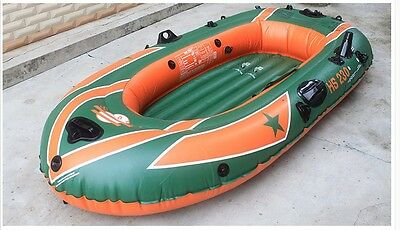 1-2 Person Yellow+Green Water-proof Length 220CM Width 115CM Inflatable Boat *
