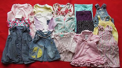 Baby Girls Clothing Bundle Age 0-3 mths NEXT M&S M/CARE Ralph Lauren, some NEW