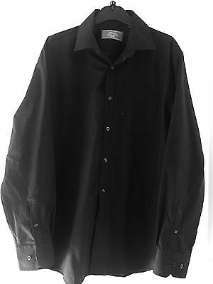 "Men's Black Shirt Size 16"" Collar"