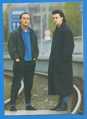 Tears For Fears.postcard Published 1985