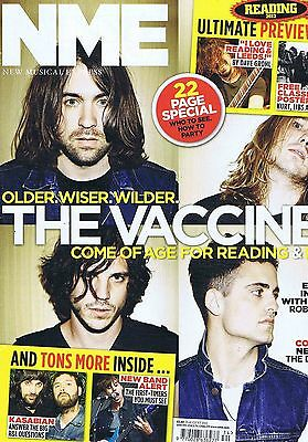 VACCINES / KASABIAN / ROBERT SMITH CURE NME 25 Aug 2012