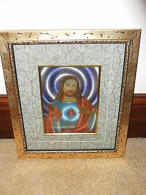 Gold Framed Picture The Sacred Heart