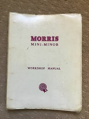 morris mini-minor & mini cooper original BMC factory workshop manual