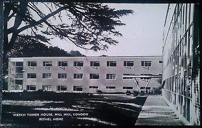 RP Postcard. Watch Tower House, Mill Hill, London. Bethel Home