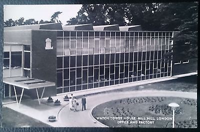 RP Postcard. Watch Tower House, Mill Hill, London. Office and Factory