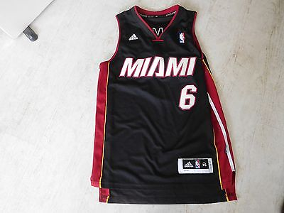 Mens' NBA Miami Heat Vest/Jersey with James 6 on it - Size XS