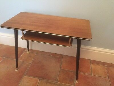 1960/70's Vintage Retro Wood Formica Table Tv Stand ?