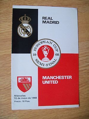 1968 European Cup Semi Final,real Madrid V Man Utd