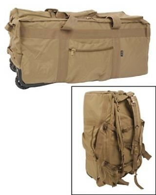 Kampftrage Seesack Reisetasche PMC Contractor Duffle Bag COYOTE TAN
