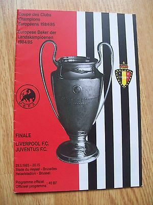 1985 European Cup Final,,liverpool V Juventus,heysal Stadium