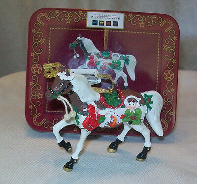 TRAIL OF PAINTED PONIES Holiday S'Mores & More  HORSE   4018410d  NEW ornament