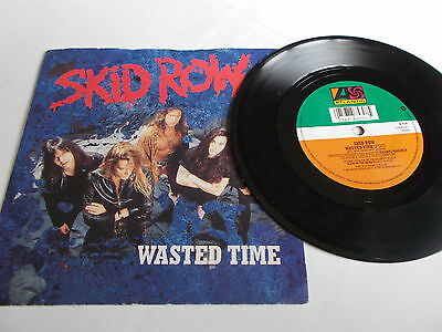 Skid Row 45 Wasted Time 1991