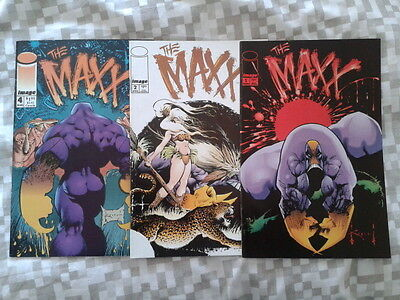 The Maxx 1,2,4,5,8,25 (1993) and Gen 13 / Maxx Special (one shot) (1995)