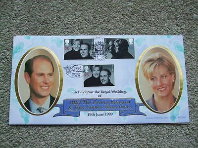 Benham First Day Cover BLCS161 Royal Wedding Edward & Sophie 1999