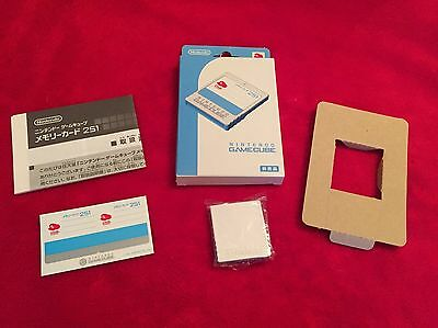 Limited Edition Club Nintendo GameCube Memory Card 251 DOL-014 Boxed GC RARE