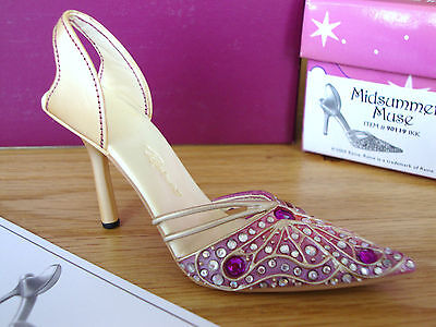 Just The Right Shoe - Midsummer Muse #90119 2004 Club Membership Exclusive