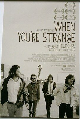 THE DOORS When You're Strange MOVIE POSTER 11x17 JIM MORRISON