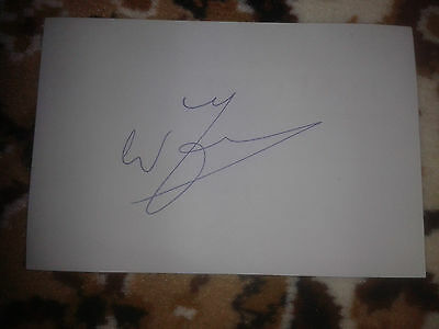 Celtic/Holland Win Jansen HAND SIGNED card