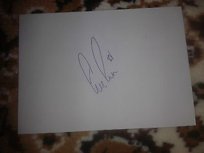 Motherwell/Celtic Stephen Pearson HAND SIGNED card