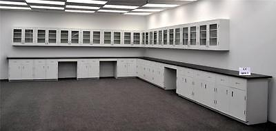 Laboratory Cabinets & Furniture w/ Counter Tops 39' base & 36' Wall - LS OPEN1..