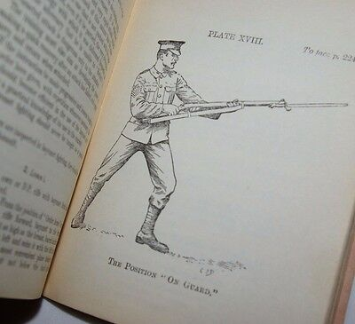 Ww1 1914 Infantry Manual Army Musketry Vickers Machine Gun Lee Enfield Rifle