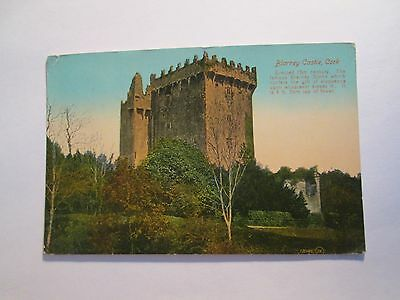 Postcard of Blarney Castle, Cork (posted 1918)