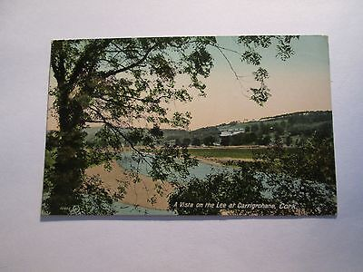 Postcard of A Vista on the Lee at Carrigraphane, Cork (posted 1918Valentine's)
