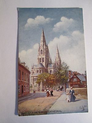 Postcard of Cork, St Finn Barr's Cathedral (Tuck's )