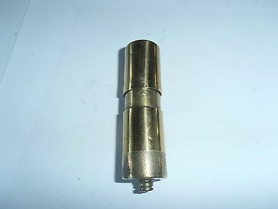 Vintage brass petrol lighter