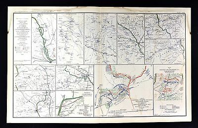 Civil War Map Savannah Georgia  Goldsboro North Carolina Bentonville Black River
